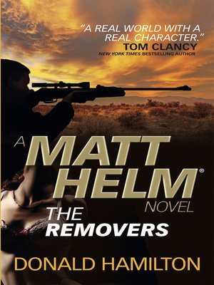 cover image of Matt Helm--The Removers