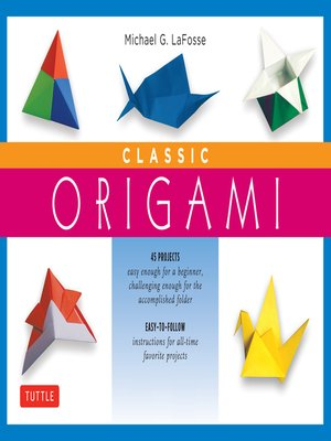 cover image of Classic Origami Ebook
