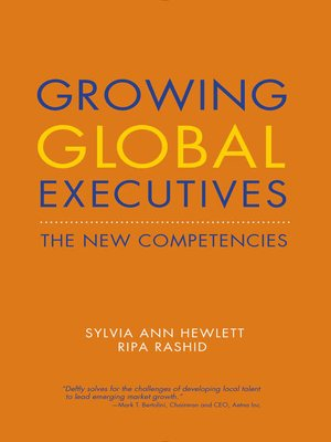 cover image of Growing Global Executives