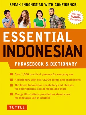 cover image of Essential Indonesian Phrasebook & Dictionary