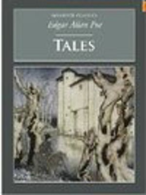 cover image of Tales by Edgar Allan Poe