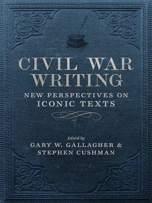cover image of Civil War Writing