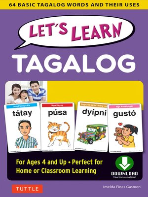 cover image of Let's Learn Tagalog Ebook