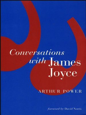 cover image of Conversations with James Joyce