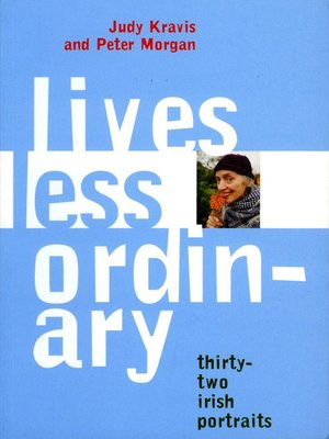 cover image of Lives Less Ordinary