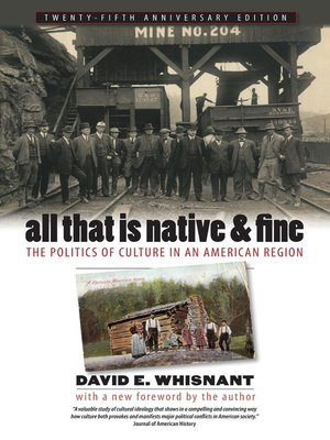 cover image of All That Is Native and Fine