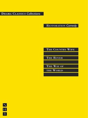 cover image of Restoration Comedy