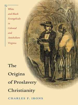 cover image of The Origins of Proslavery Christianity