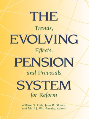 cover image of The Evolving Pension System
