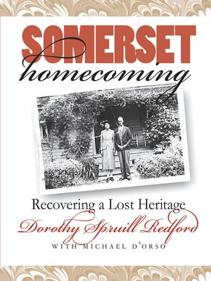 cover image of Somerset Homecoming