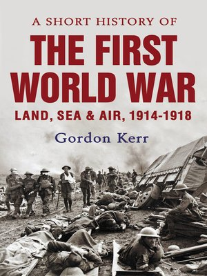 cover image of A Short History of the First World War