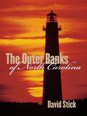 cover image of The Outer Banks of North Carolina, 1584-1958