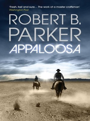 cover image of Appaloosa