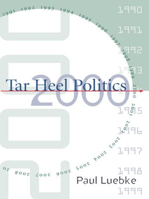 cover image of Tar Heel Politics 2000