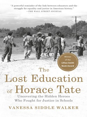 cover image of The Lost Education of Horace Tate