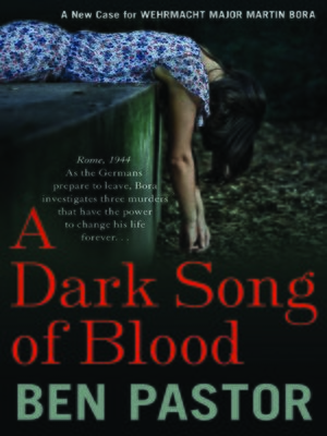 cover image of A Dark Song of Blood