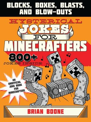 cover image of Hysterical Jokes for Minecrafters
