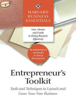 cover image of Entrepreneur's Toolkit