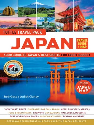 cover image of Japan Travel Guide & Map Tuttle Travel Pack