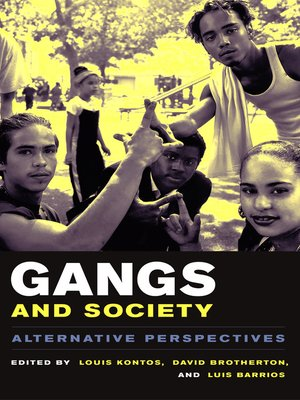 cover image of Gangs and Society