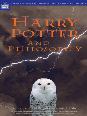cover image of Harry Potter and Philosophy