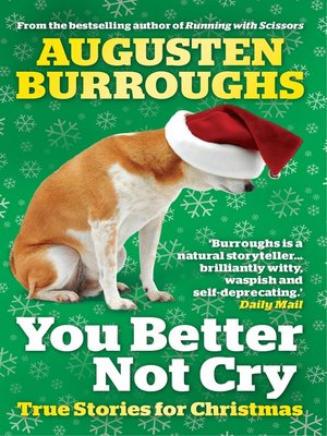 cover image of You Better Not Cry