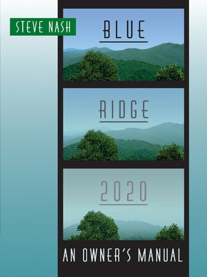 cover image of Blue Ridge 2020