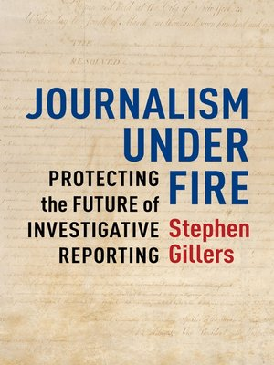 cover image of Journalism Under Fire