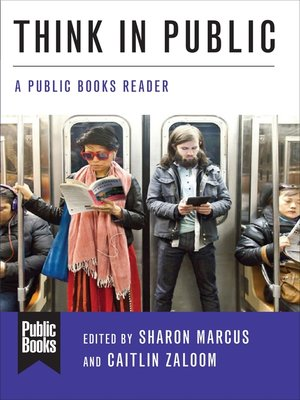 cover image of Think in Public