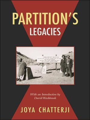 cover image of Partition's Legacies