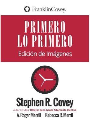 cover image of Primero Lo Primero