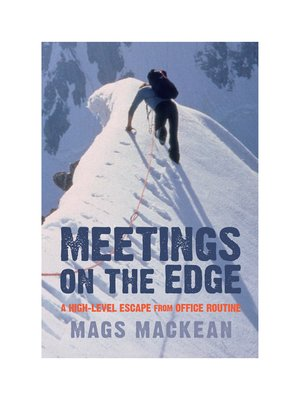 cover image of Meetings on the Edge