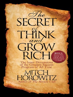 cover image of The Secret of Think and Grow Rich