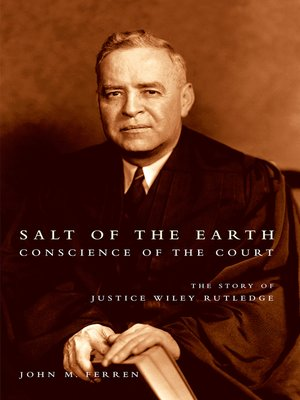 cover image of Salt of the Earth, Conscience of the Court