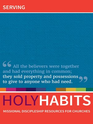 cover image of Holy Habits
