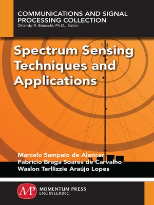 cover image of Spectrum Sensing Techniques and Applications