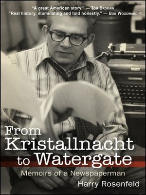 cover image of From Kristallnacht to Watergate