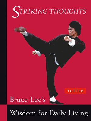cover image of Bruce Lee Striking Thoughts