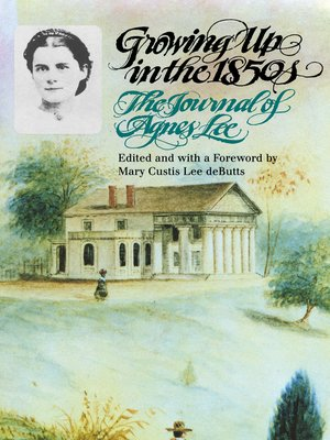 cover image of Growing Up in the 1850s