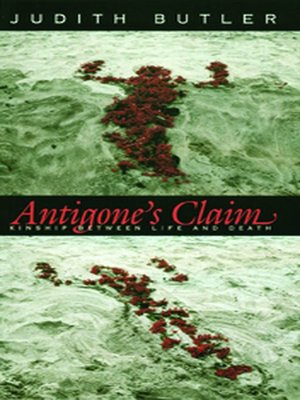 cover image of Antigone's Claim