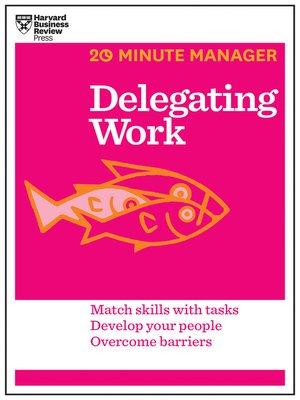 cover image of Delegating Work