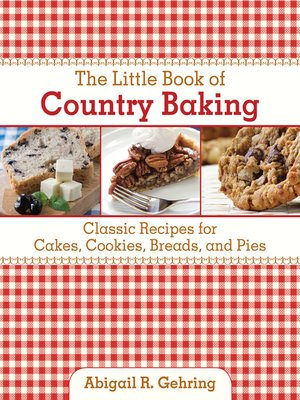 cover image of The Little Book of Country Baking