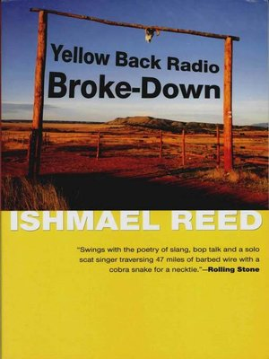 cover image of Yellow Back Radio Broke-Down