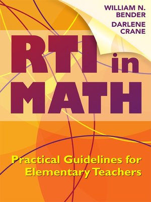 cover image of RTI in Math