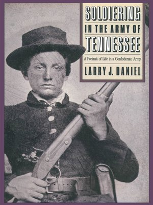 cover image of Soldiering in the Army of Tennessee