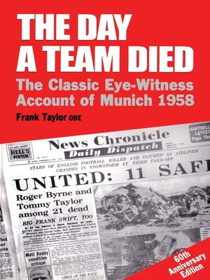 cover image of The Day a Team Died