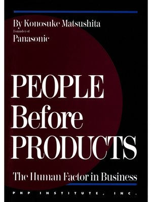 cover image of People Before Products