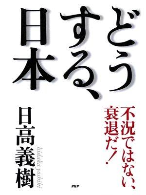 cover image of 不況ではない、衰退だ! どうする、日本