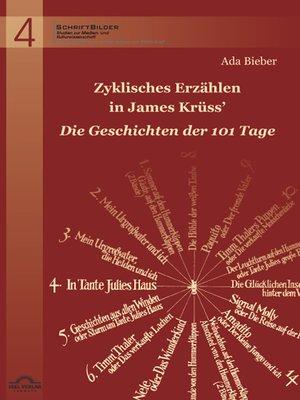 """cover image of Zyklisches Erzählen in James Krüss' """"Die Geschichten der 101 Tage"""""""