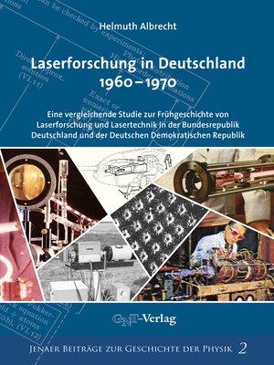 cover image of Laserforschung in Deutschland 1960-1970